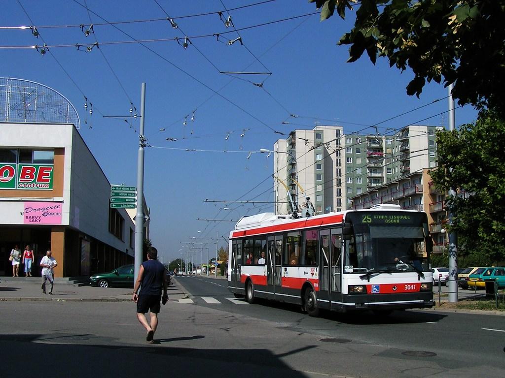 Fotogalerie » Škoda 21TrIGCT 3041 | Brno | Vinohrady | Pálavské náměstí