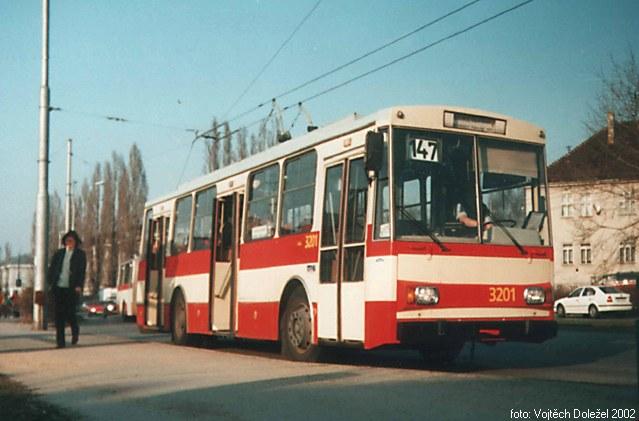 Fotogalerie » Škoda 14Tr07 3201 | Brno | Židenice | Svatoplukova | Svatoplukova