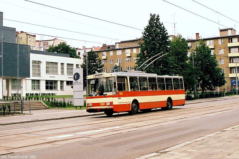 Fotogalerie » Škoda 14Tr07 3201   Brno   Veveří   Údolní