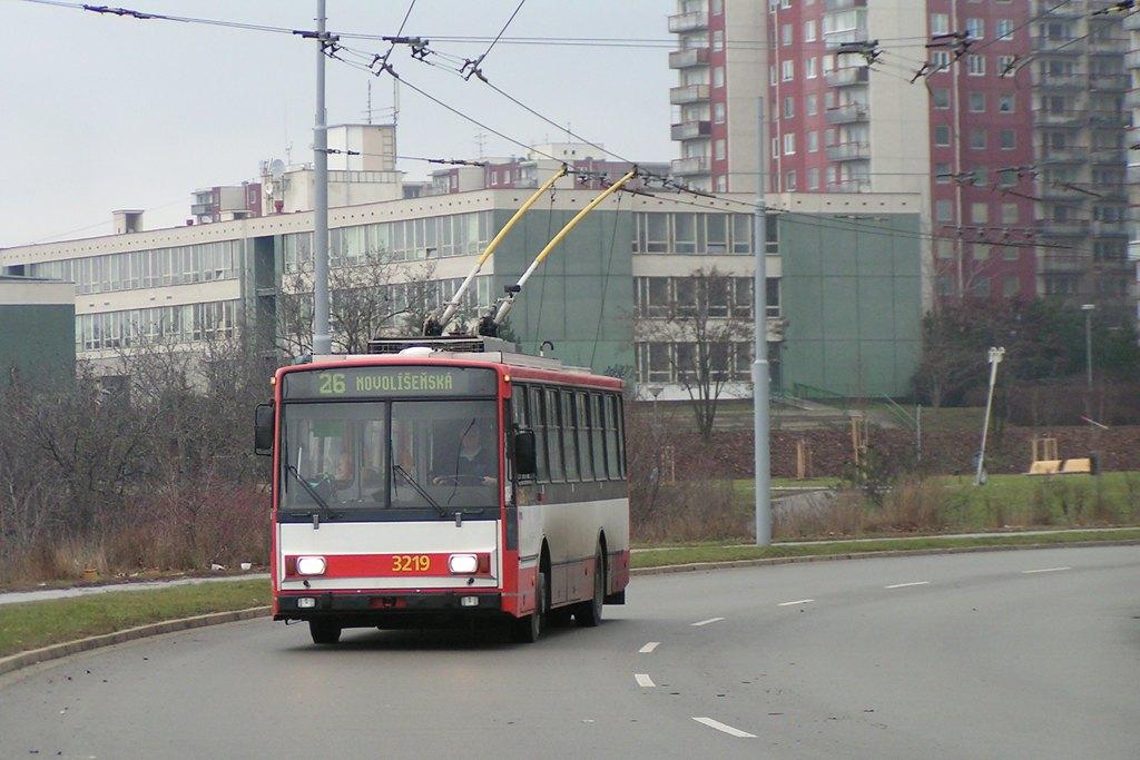 Fotogalerie » Škoda 14TrR 3219   Brno   Vinohrady   Věstonická