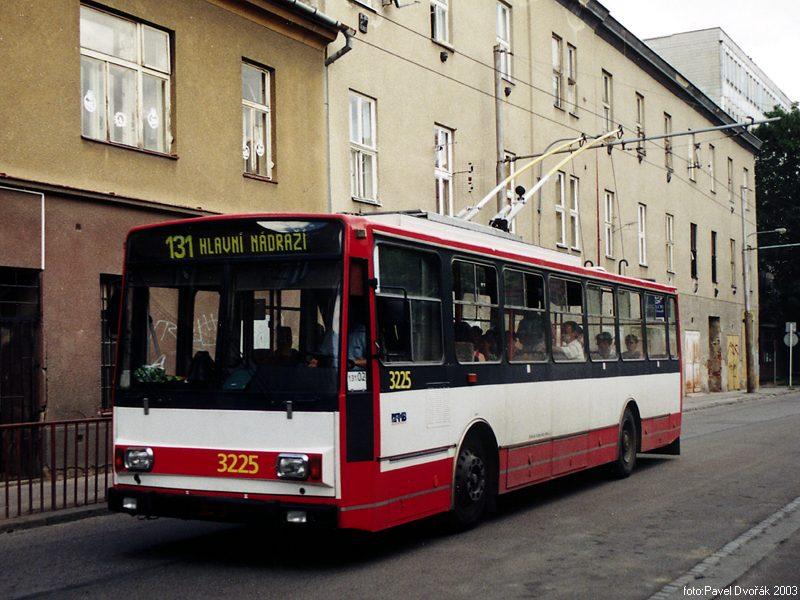 Fotogalerie » Škoda 14TrR 3225   Brno   Mlýnská
