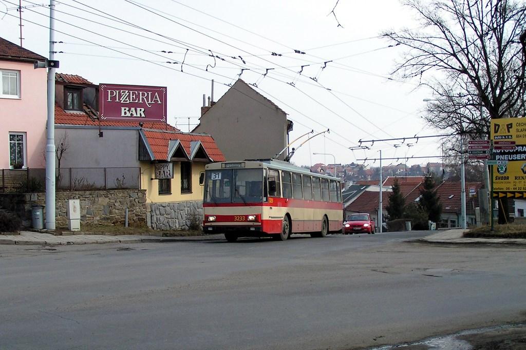 Fotogalerie » Škoda 14Tr10/6 3233 | Šlapanice | Brněnská