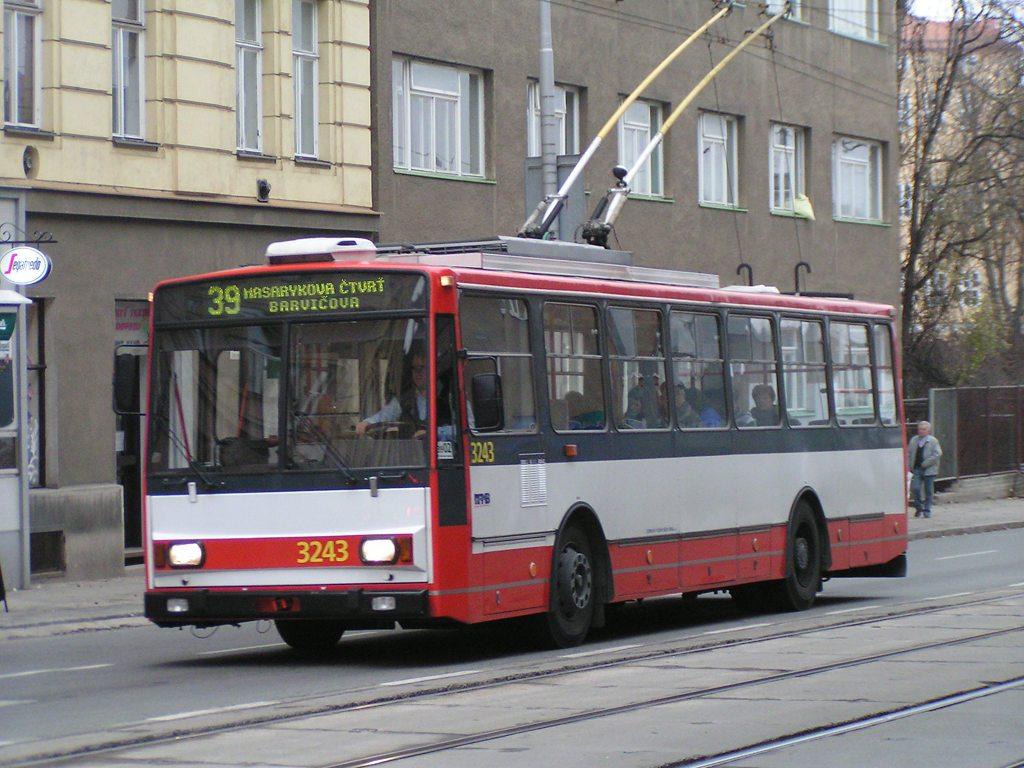 Fotogalerie » Škoda 14TrR 3243 | Brno | Veveří | Údolní