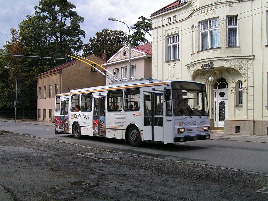 Fotogalerie » Škoda 14Tr17/6M 3275 | Brno | Pisárky | Hlinky