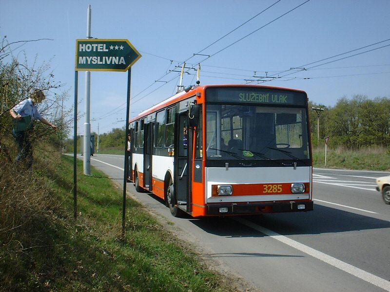 Fotogalerie » Škoda 14Tr17/6M 3285 | Brno | Kohoutovice | Chironova