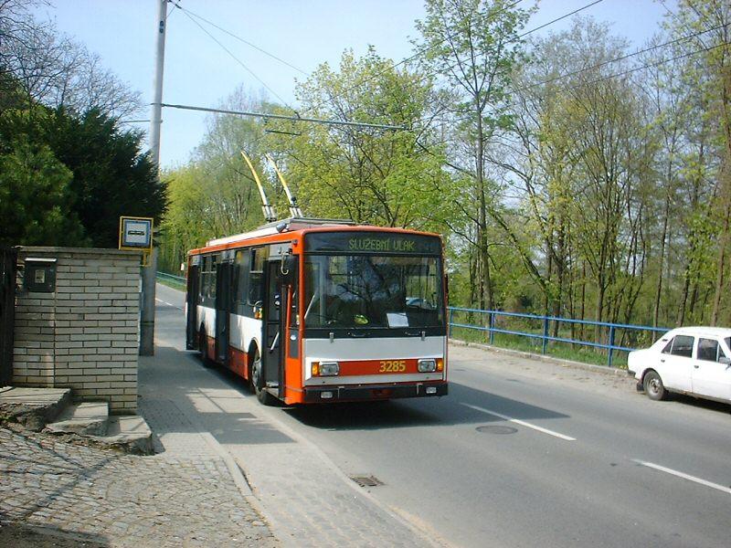 Fotogalerie » Škoda 14Tr17/6M 3285 | Brno | Jundrov | Veslařská | Veslařská