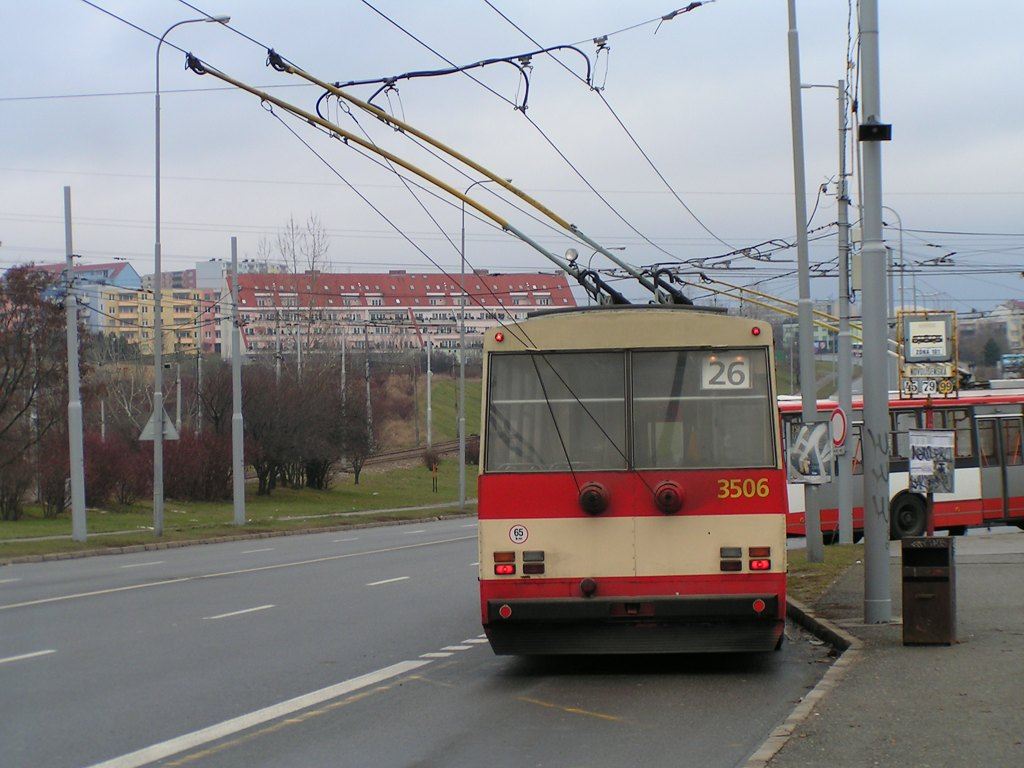 Fotogalerie » Škoda 15Tr08 3506 | Brno | Líšeň | Novolíšeňská | Novolíšeňská
