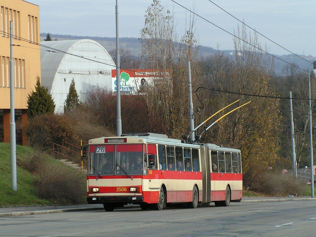 Fotogalerie » Škoda 15Tr08 3506   Brno   Husovice   Provazníkova