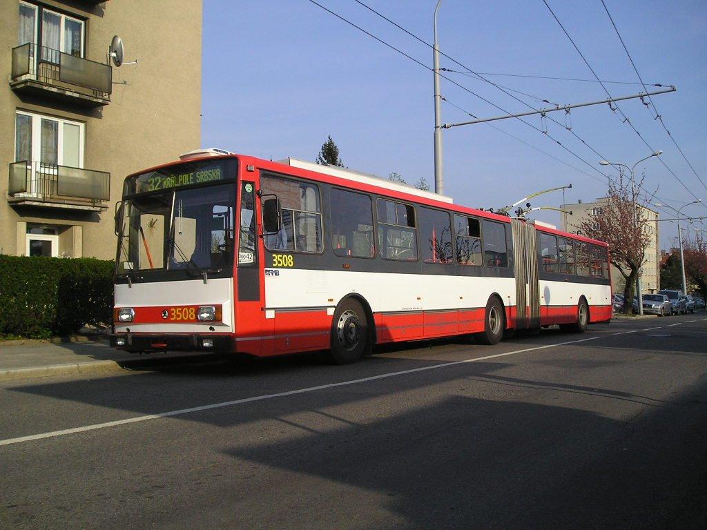 Fotogalerie » Škoda 15TrM 3508 | Brno | Královo Pole | Srbská