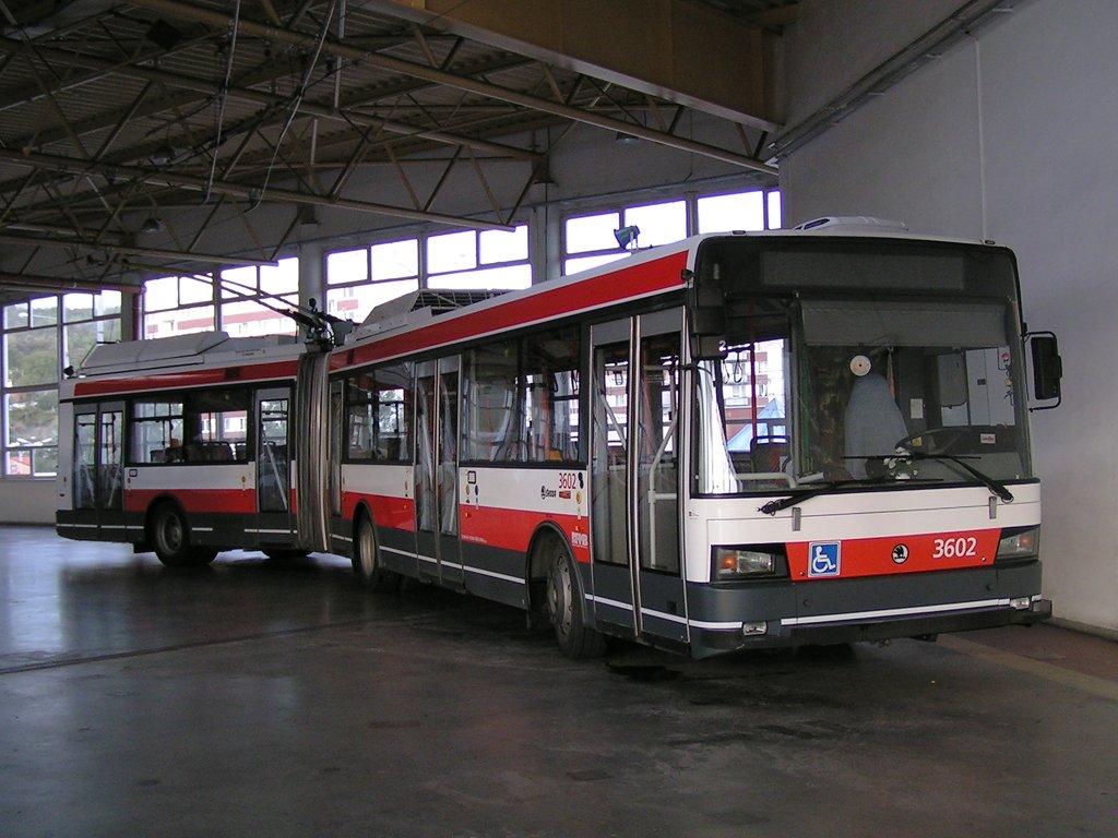 Fotogalerie » Škoda 22Tr 3602 | Brno | Komín | vozovna Komín