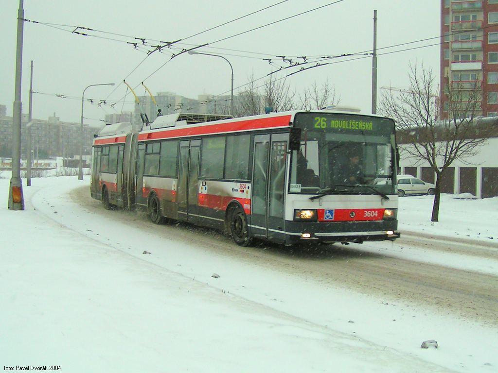 Fotogalerie » Škoda 22Tr 3604   Brno   Vinohrady   Věstonická