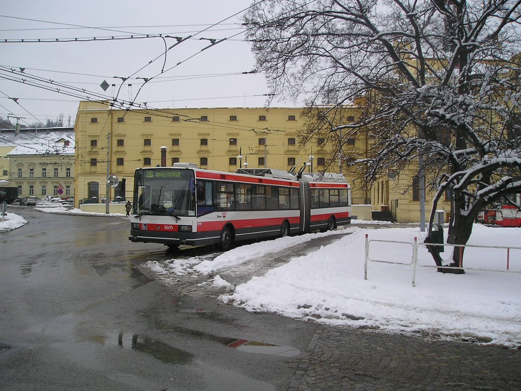 Fotogalerie » Škoda 22Tr 3605 | Brno | Staré Brno | Mendlovo náměstí
