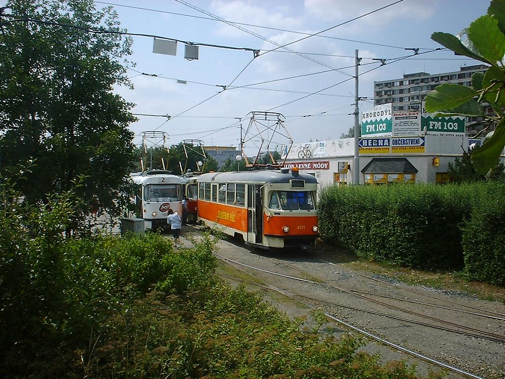 Fotogalerie » Tatra T2 služební 4121 | Brno | Židenice | Stará Osada, smyčka