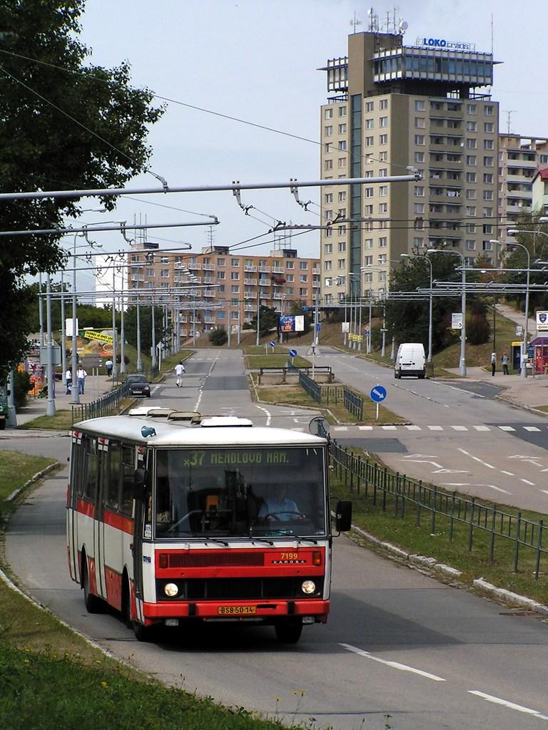 Fotogalerie » Karosa B732.20 7199 | Brno | Kohoutovice | Libušina třída