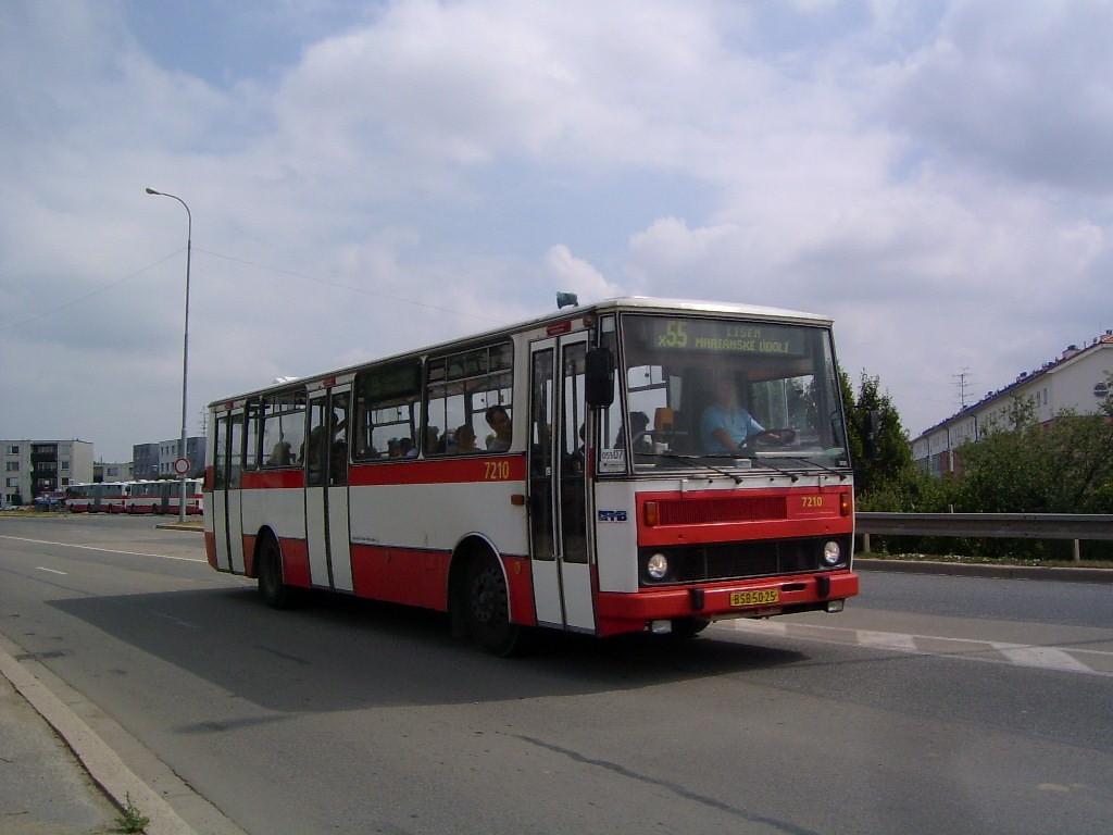 Fotogalerie » Karosa B732.20 7210 | Brno | Líšeň | Novolíšeňská