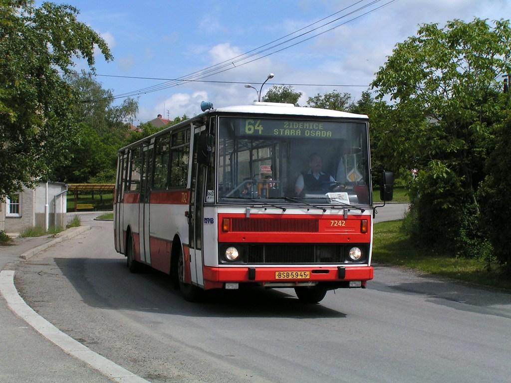 Fotogalerie » Karosa B732.20 7242   Brno   Maloměřice   Kulkova