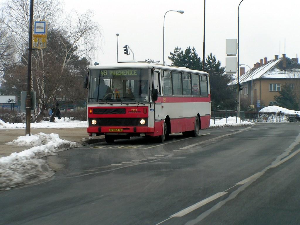 Fotogalerie » Karosa B732.20 7257 | Brno | Komárov | Kšírova | Komárov