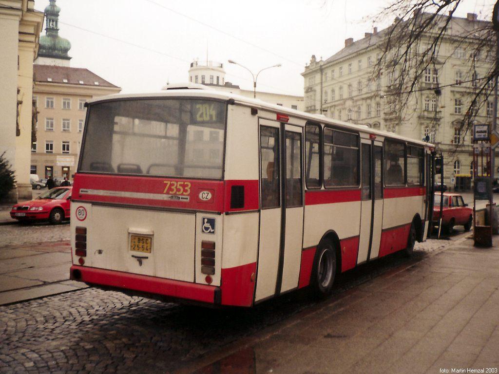 Fotogalerie » Karosa B732 pro invalidy 7353 | Brno | střed | Moravské náměstí | Moravské náměstí