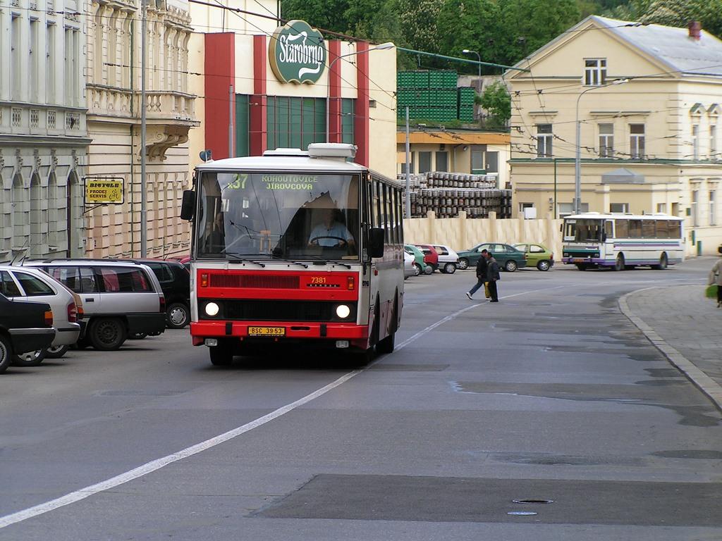 Fotogalerie » Karosa B732.1654.3 7381 | Brno | Pisárky | Hlinky