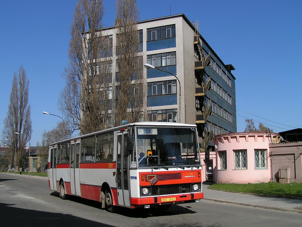 Fotogalerie » Karosa B732.1654.3 7381 | Brno | Židenice | Jílkova