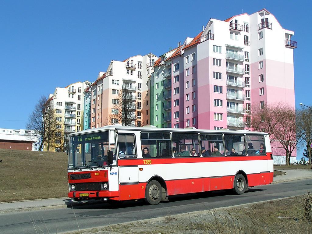 Fotogalerie » Karosa B732.1654.3 7389 | Brno | Líšeň | Houbalova