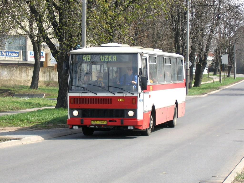 Fotogalerie » Karosa B732.1654.3 7389 | Brno | Brněnské Ivanovice | Kaštanová