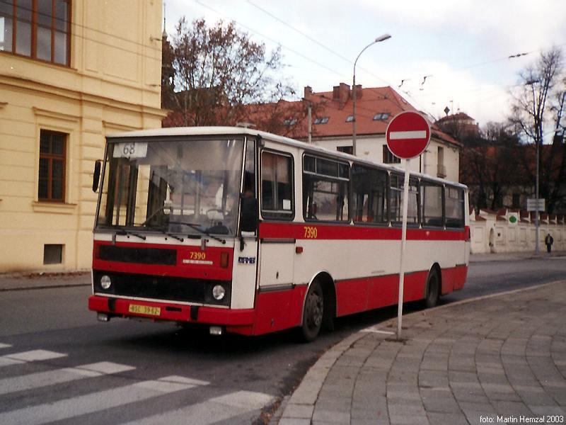 Fotogalerie » Karosa B732.1654.3 7390   Brno   Staré Brno   Mendlovo náměstí