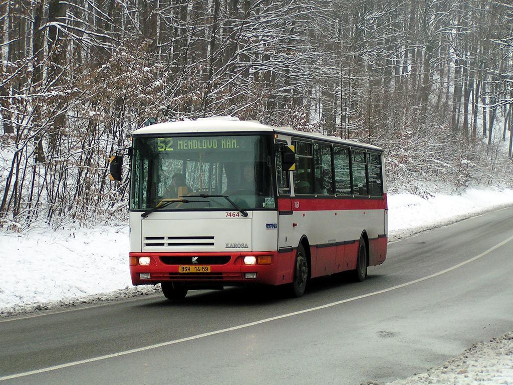 Fotogalerie » Karosa B931E.1707 7464 | Brno | Kohoutovice | Žebětínská