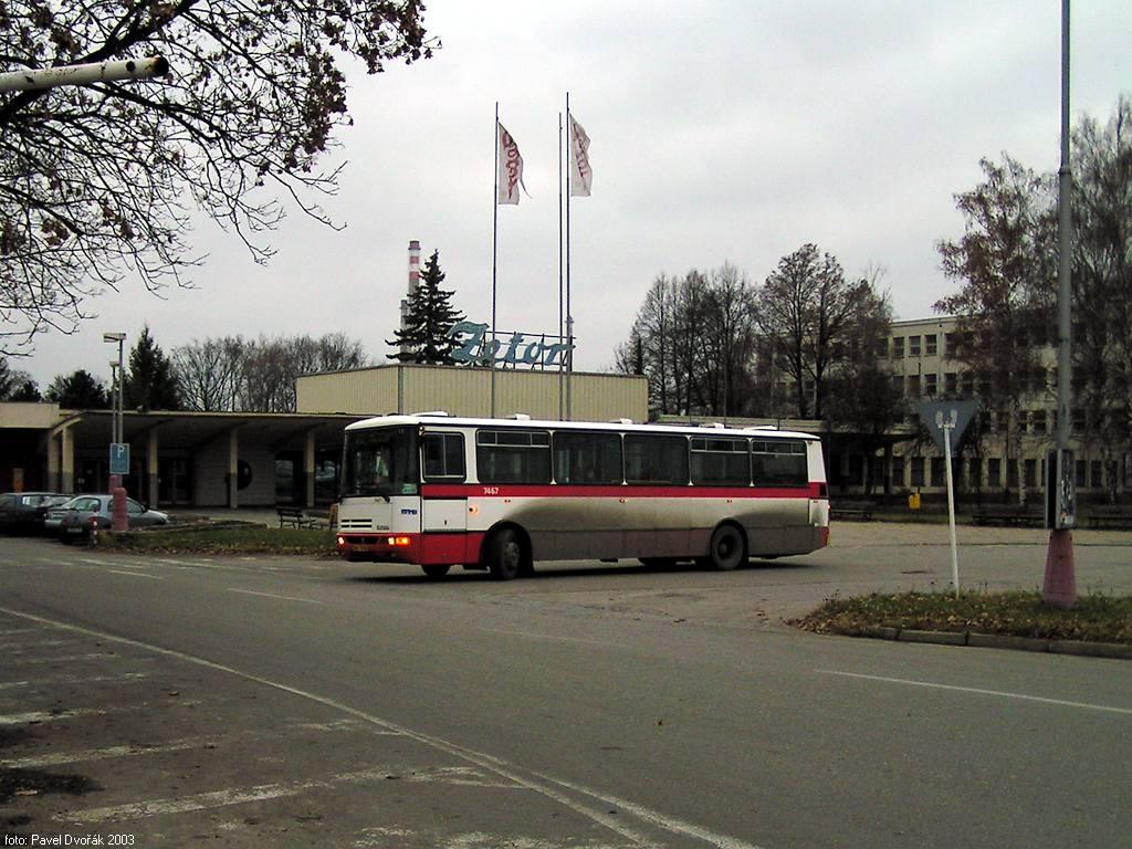 Fotogalerie » Karosa B931E.1707 7467 | Brno | Líšeň | Trnkova | Zetor, smyčka
