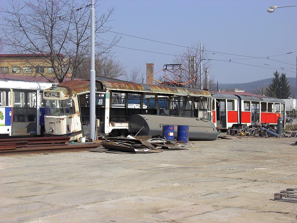 Fotogalerie » Tatra T2 služební 4113   Brno   Vozovna Medlánky