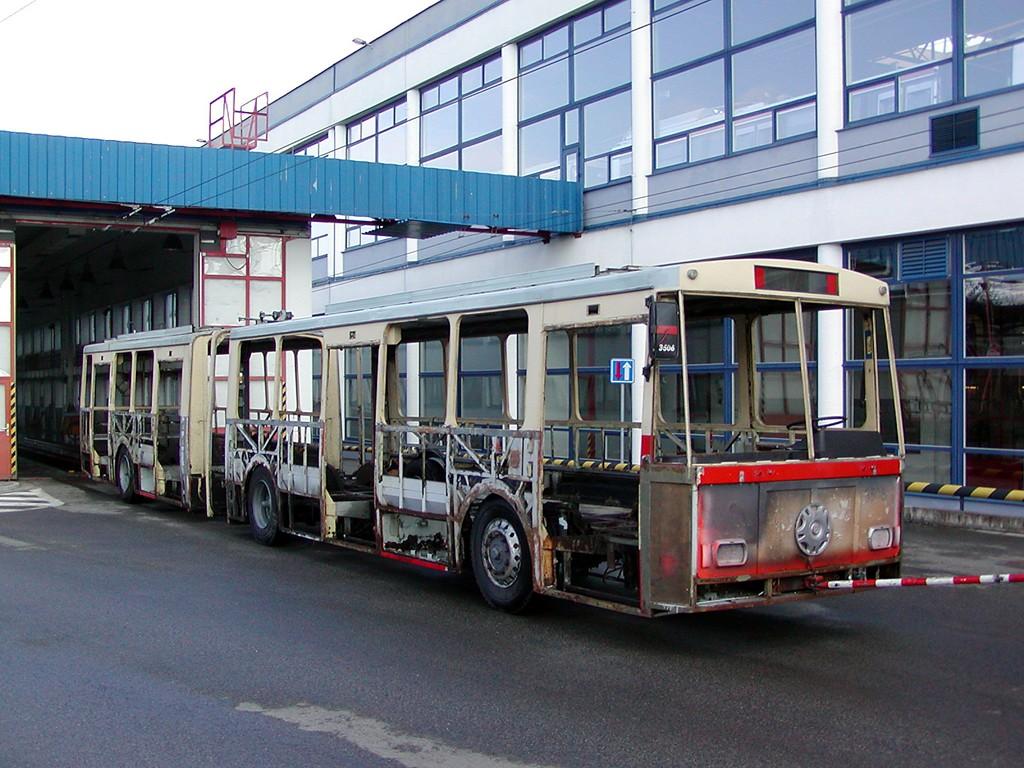 Fotogalerie » Škoda 15Tr08 3506 | Brno | Komín | vozovna Komín