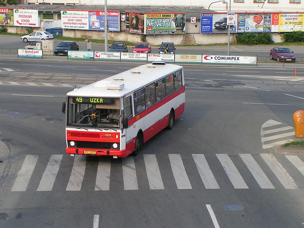 Fotogalerie » Karosa B732.1654.3 7373 | Brno | Trnitá | Úzká