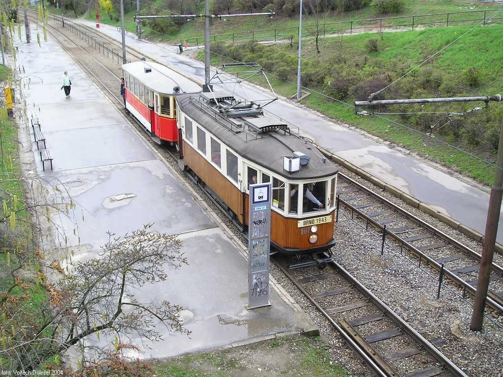 Fotogalerie » KPS Brno mv6.3 107 | Ringhoffer vv2.ringh 215 | Brno | Bystrc | Přístaviště