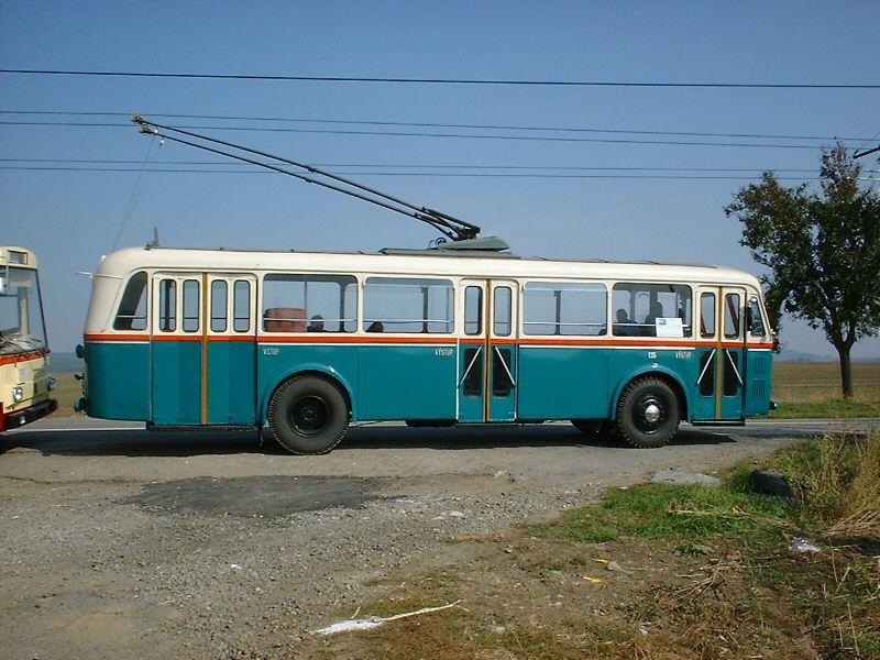 Fotogalerie » Škoda 6Tr 135   Šlapanice   Brněnská
