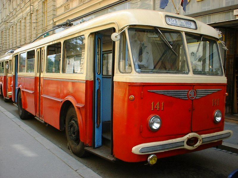 Fotogalerie » Škoda 8Tr 141 | Brno | střed | Brandlova | Česká
