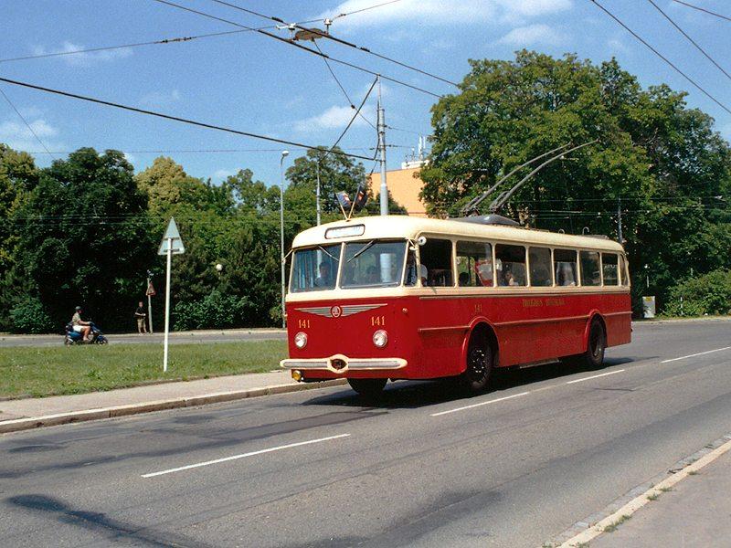 Fotogalerie » Škoda 8Tr 141 | Brno | Žabovřesky | Tábor