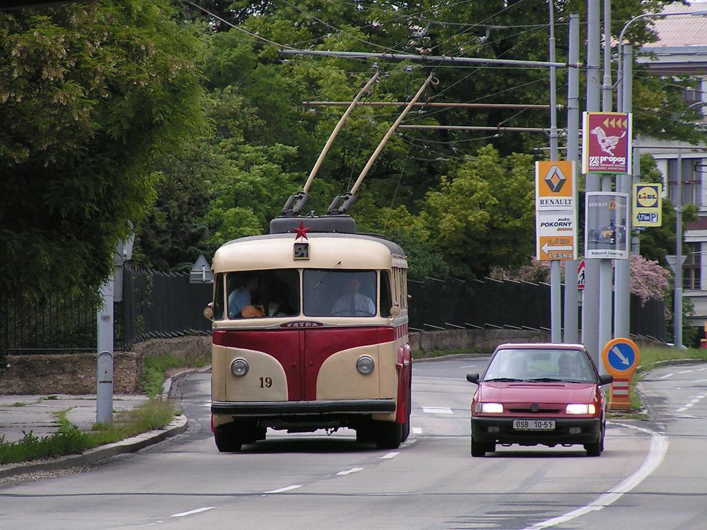 Fotogalerie » Tatra T400 19 | Brno | Černá Pole | Drobného