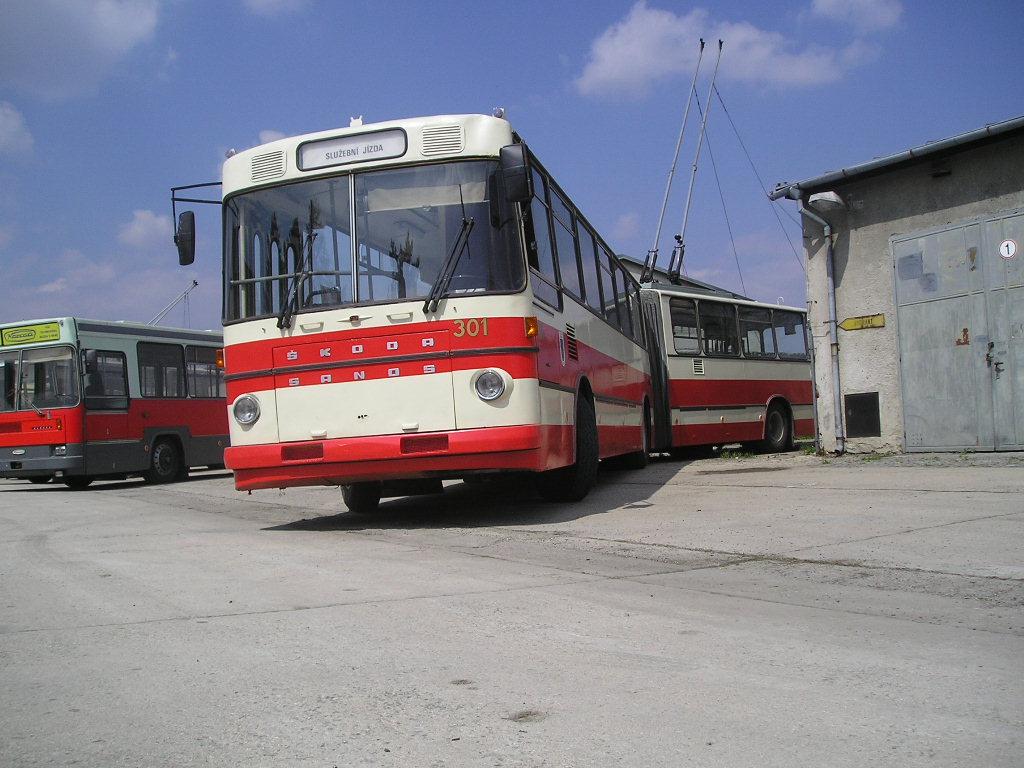 Fotogalerie » Škoda Škoda Sanos 200Tr 301 | Brno | TMB Řečkovice