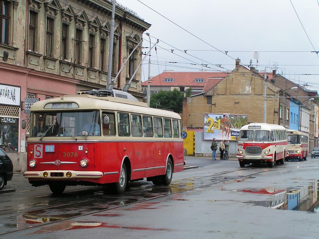 Fotogalerie » Škoda 9Tr17 3076 | Brno | Husovice | Vranovská