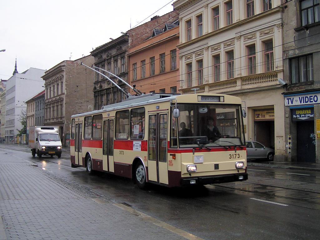 Fotogalerie » Škoda 14Tr01 3173   Brno   Zábrdovice   Cejl