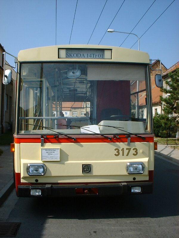 Fotogalerie » Škoda 14Tr01 3173 | Brno