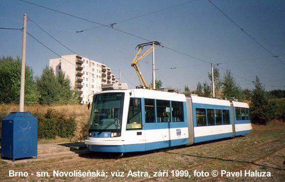 Fotogalerie » Škoda Astra 1204 DPO | Brno | Líšeň | Novolíšeňská, smyčka