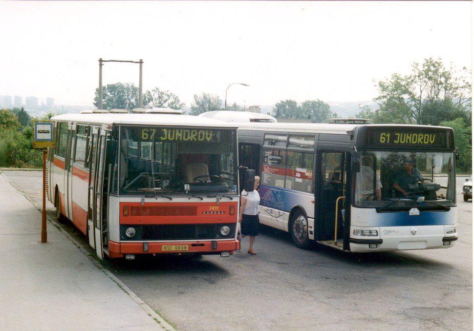 Fotogalerie » Karosa B731.1669 7411 | Renault Agora L H 08-67 | Brno | Jundrov | Jundrov
