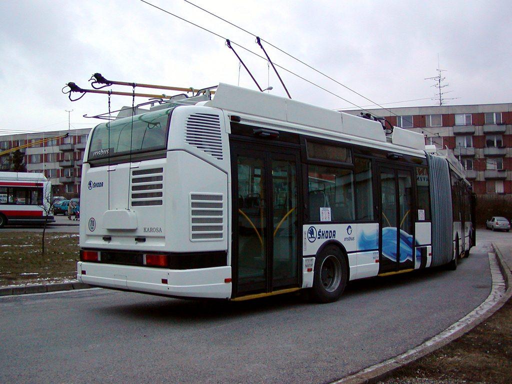 Fotogalerie » Škoda 25Tr Citybus 3609 | Brno | Bystrc | Černého | Černého