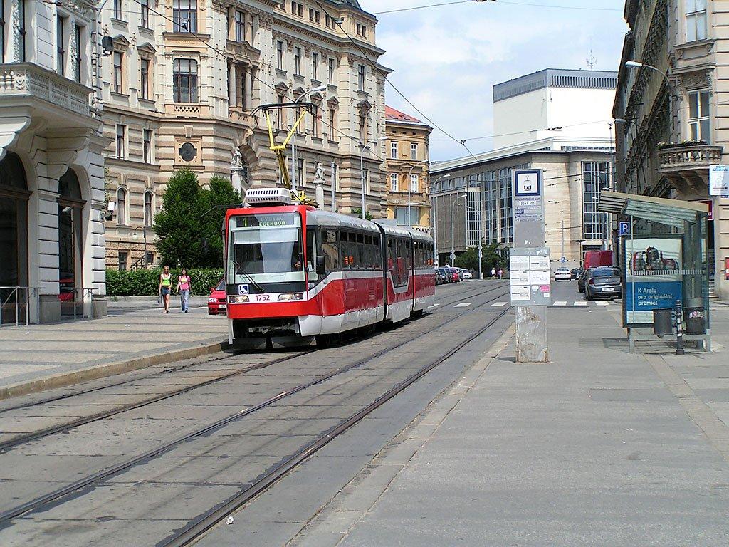 Fotogalerie » Pars Nova K3R-N 1752 | Brno | střed | Rooseveltova | Malinovského náměstí