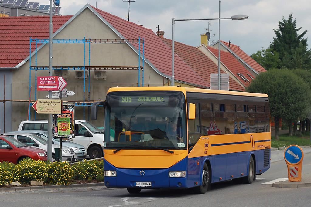 Fotogalerie » Irisbus Crossway 12M 5B6 0079 | Rajhrad | Masarykova