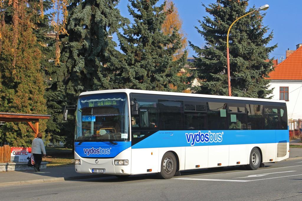 Fotogalerie » Irisbus Crossway 12M 6B8 3034 | Drnovice