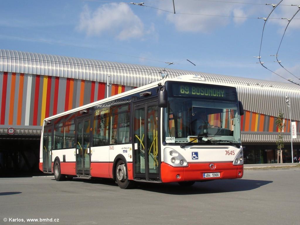 Fotogalerie » Irisbus Citelis 12M 4B4 5966 7645 | Brno | Bohunice | Netroufalky