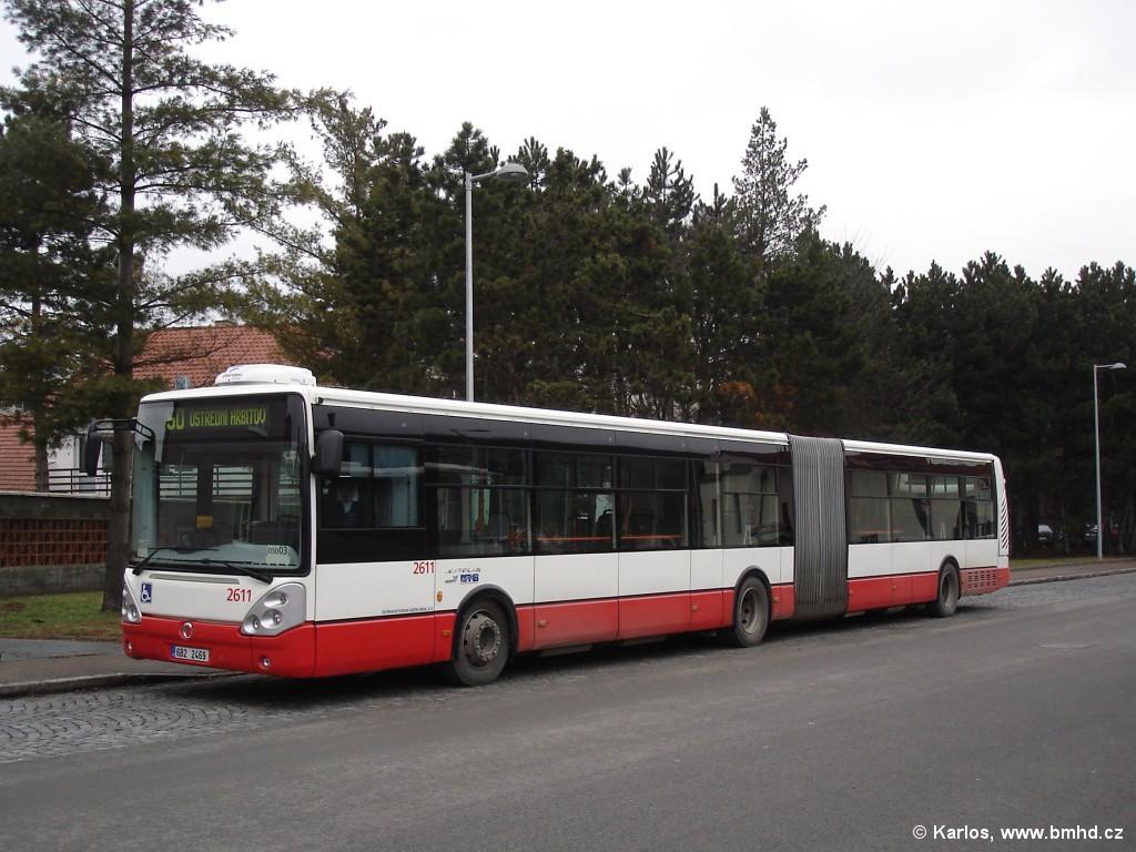 Fotogalerie » Irisbus Citelis 18M 6B2 2469 2611 | Brno | Bystrc | náměstí 28. dubna | Zoologická zahrada