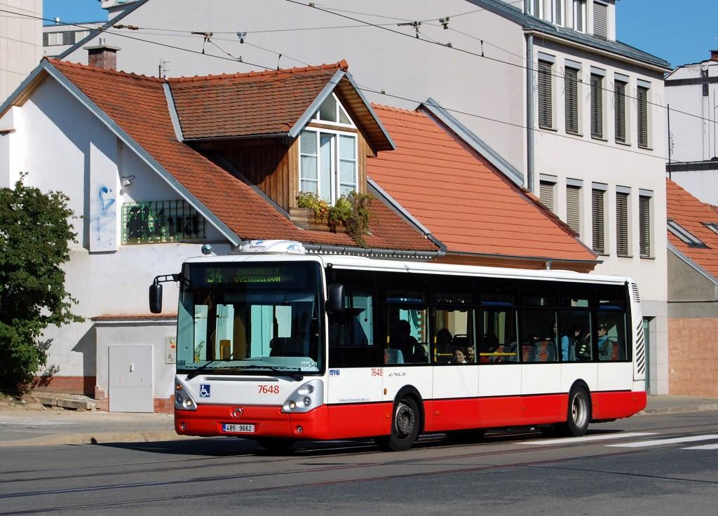 Fotogalerie » Irisbus Citelis 12M 4B5 9662 7648 | Brno | Žabovřesky | Rosického náměstí